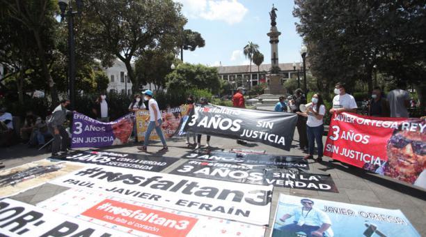 La condena de alias Reinel es la primera por el crimen del periodista Javier Ortega, el fotógrafo Paúl Rivas y el conductor Efraín Segarra, miembros del equipo periodístico de EL COMERCIO secuestrado en Mataje en el 2018 y asesinado por disidencias de las