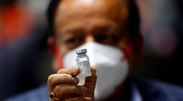 Según las autoridades, las vacunas indias permanecerán en cuarentena hasta que se pueda verificar su seguridad y eficacia. Foto: archivo / Reuters