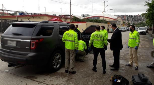 La Fiscalía investiga a cuatro personas vinculadas al asesinato del presentador de televisión, Efraín Ruales. Foto: Twitter Fiscalía
