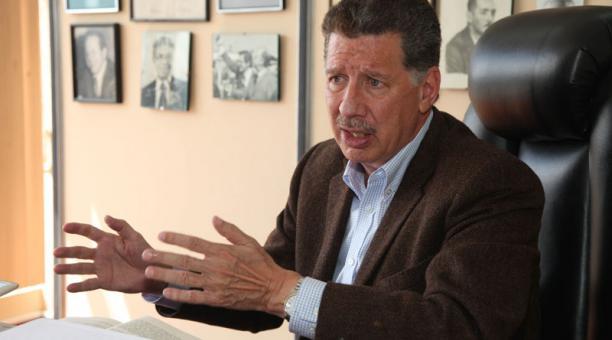 Roberto Aspiazu dejó el cargo de director del Comité Empresarial Ecuatoriano. Foto: Archivo/ EL COMERCIO
