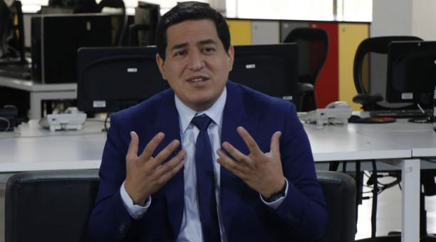 Arauz formó parte de la nómina del Banco Central hasta mayo de 2020. Foto: Galo Paguay / EL COMERCIO