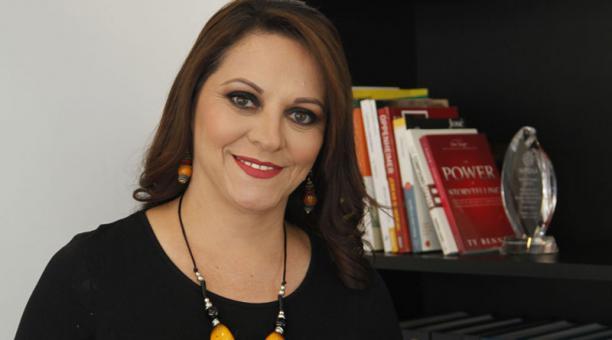 María Fernanda León Presidenta de Procosméticos. Foto: Archivo / EL COMERCIO