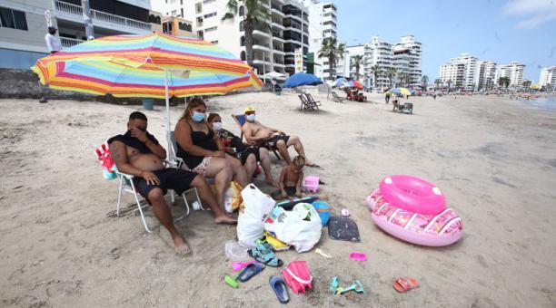 Guayas y Santa Elena anunciaron que acogerán el exhorto del Gobierno y cerrarán las playas durante el feriado de Semana Santa. Foto: Archivo/ EL COMERCIO.