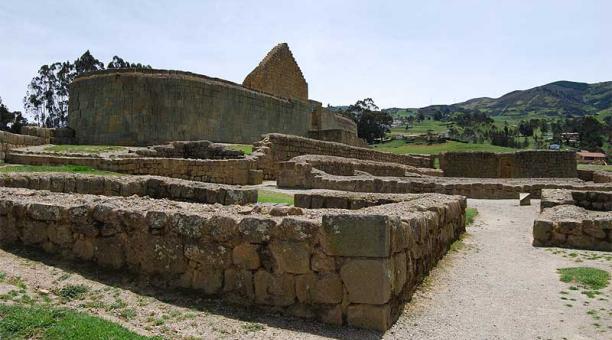 En el Complejo Arqueológico Ingapirca se cumplirán con el protocolo de bioseguridad aprobado por el COE Nacional y al aforo máximo del 30%. Foto: cortesía Complejo Arqueológico Ingapirca