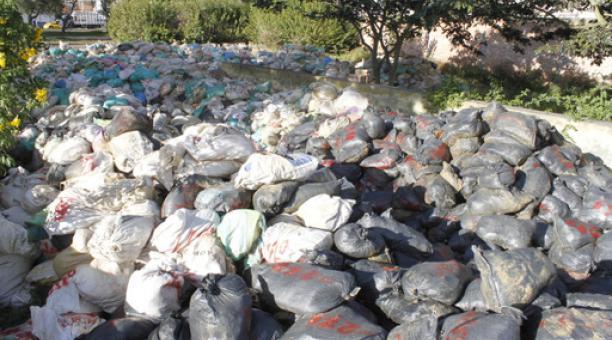 En Imbabura se investiga el cambio de rocas con oro, incautadas en Buenos Aires, por piedras comunes. Foto cortesía Agencia de Regulación y Control de Energía y Recursos Naturales no Renovables