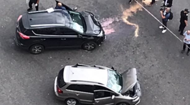 El futbolista Jorman Campuzano protagonizó un siniestro vial en Buenos Aires. Foto de la cuenta Twitter @JuanoQuesada