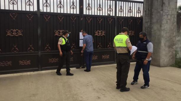 El procedimiento administrativo se inició la semana pasada, luego de una inspección integral realizada por el Ministerio del Trabajo a la fábrica tras denuncias. Foto: Cortesía Ministerio de Trabajo