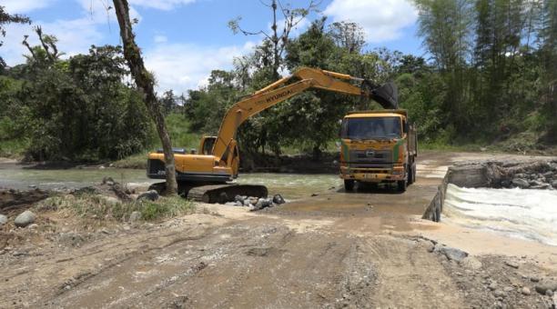 Imagen referencial. El Inamhi pronosticó que las condiciones climáticas podrían extenderse hasta la madrugada del 3 de abril. Foto: cortesía Prefectura de Santo Domingo de los Tsáchilas