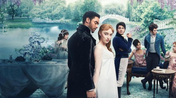 El romance ambientado en el siglo XIX que relata 'Bridgerton' se convirtió en lo más visto en Netflix. Fotograma de la serie