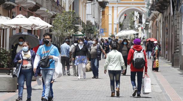 El COE Metropolitano se reunirá desde el 6 de abril del 2021 para analizar la situación epidemiológica en Quito por el covid-19. Foto: Diego Pallero/ EL COMERCIO