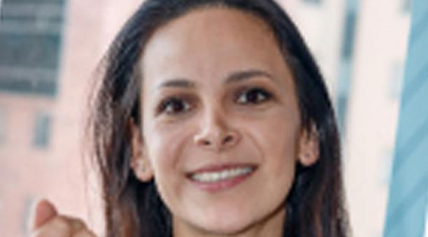Diana Espín es directora de la Corporación Nacional de Avicultores del Ecuador.
