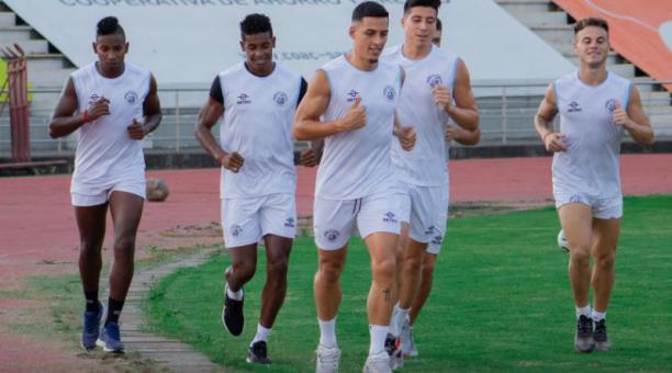 El Guayaquil City recibirá al Aucas por la revancha de la Copa Sudamericana. Tomado del Guayaquil City
