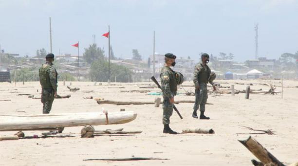 La Corte Constitucional se pronunció sobre los controles de la fuerza pública durante el estado de excepción focalizado. Foto: Cortesía Gobernación del Guayas