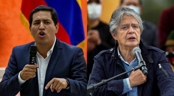 A las elecciones de este 11 de abril del 2021 concurren los dos primeros candidatos de la primera vuelta: el correísta Andrés Arauz (i), que obtuvo el 32,72 % de los votos, y el centroderechista Guillermo Lasso, con 19,74 %, en una quasi réplica ideológic