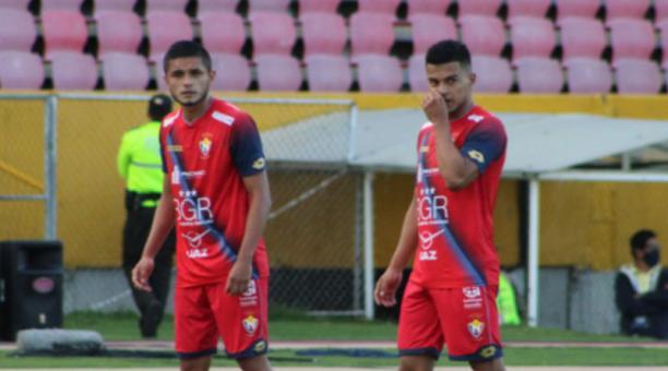 El Nacional derrotó al Cumbayá en la Serie B, el 7 de abril del 2021. Foto de la cuenta Twitter @elnacionalec