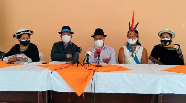 El consejo de Gobierno de la Conaie acordó promover el voto nulo ideológico. Foto: Twitter Conaie