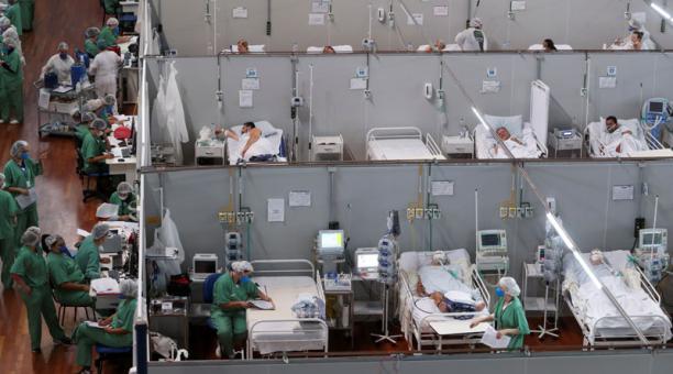 En Brasil los casos de contagios y muertes por covid-19 han alcanzado máximos históricos, dijo la OPS. Foto: Reuters