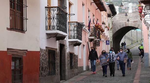 Autoridades buscan que La Ronda se convierta en un sitio turístico como era antes de la emergencia sanitaria. Foto: archivo / EL COMERCIO