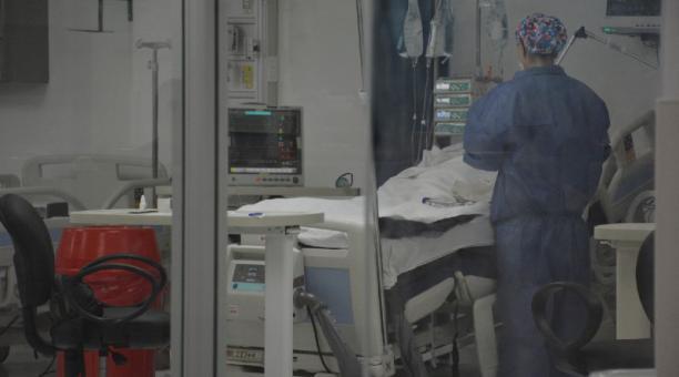 El Hospital Gustavo Domínguez, de Santo Domingo, tiene 22 pacientes críticos; más enfermos esperan una cama. Foto: Cortesía Hospital Gustavo Domínguez