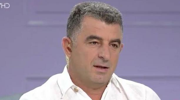 Karaivaz fue asaltado cuando acababa de aparcar su coche tras regresar del trabajo en el canal privado Star. Foto: Captura de pantalla