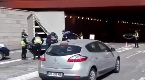 La inteligencia española contribuyó a la operación con de la detención de dos contrabandistas de migrantes que operaban en el país norteafricano. Foto: Captura de pantalla