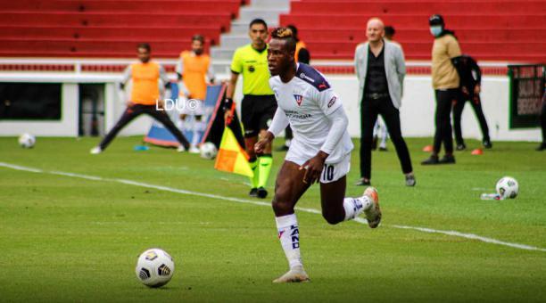 Liga de Quito empató en el partido ante Mushuc Runa y hubo críticas al rendimiento del equipo. Tomado de LDU