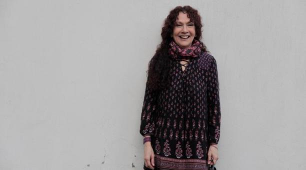 Rossana Iturralde, actriz guayaquileña, actuó en Ángel de Piedra, La Tigra, entre otras producciones. Foto; Galo Paguay / EL COMERCIO