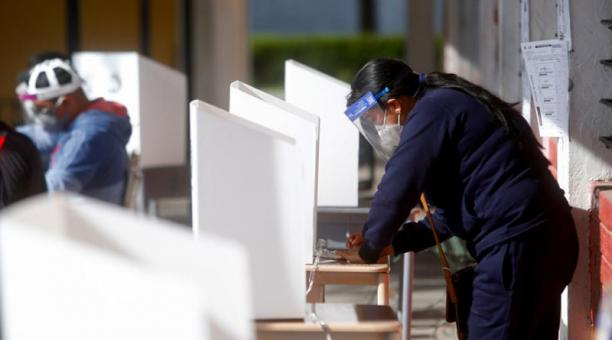 La Corporación Participación Ciudadana informó que la jornada electoral de este domingo 11 de abril de 2021 se desarrolló sin mayores incidentes. Foto: Diego Pallero / EL COMERCIO