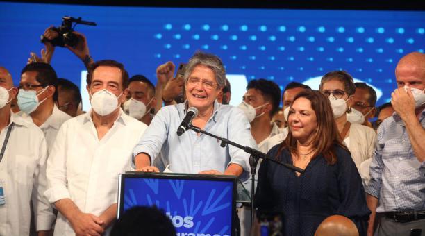 Guillermo Lasso el nuevo presidente electo de Ecuador. Foto cortesía