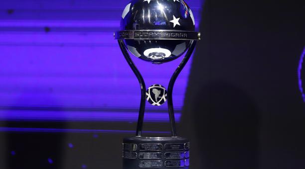 Foto referencial de la Copa Sudamericana. Foto: EFE