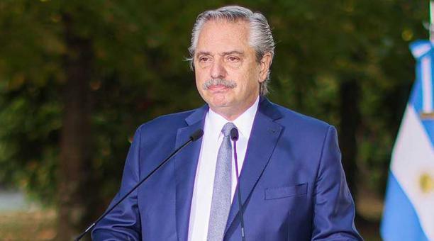 El presidente Alberto Fernández fue diagnosticado con covid-19 el pasado 3 de abril con una prueba PCR. Foto: Twitter Alberto Fernández