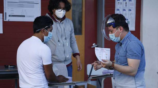 En siete provincias todavía no se completa el escrutinio de actas. Foto: Diego Pallero / EL COMERCIO