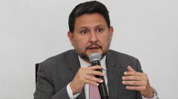 Gabriel Martinez sostuvo que se ha dado la disposición a todos los ministros para que entreguen la información que la Fiscalía requiera. Foto: Tomada de la cuenta Twitter @martinezjg