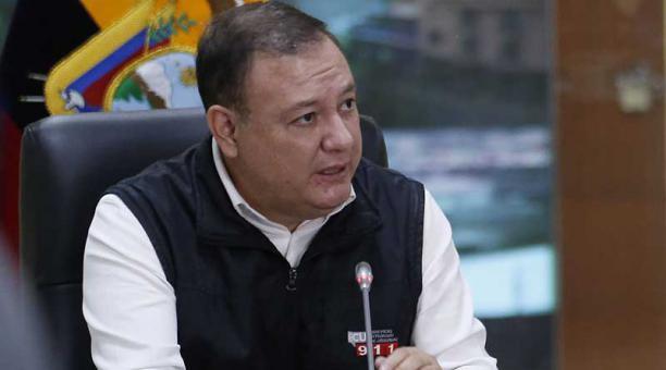 Juan Zapata, presidente del Comité de Operaciones de Emergencia (COE) nacional. Foto: archivo / EL COMERCIO