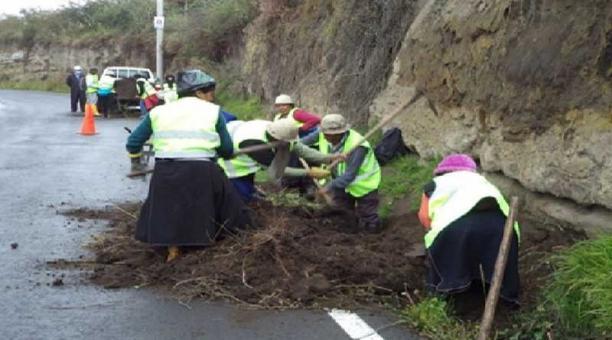 En esta actividad trabajarán 51 asociaciones de las comunidades de los siete cantones de Tungurahua. Foto: Consejo Provincial de Tungurahua