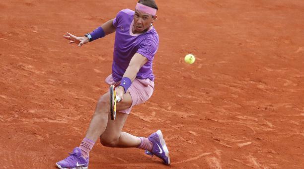 Rafael Nadal se lució en su victoria sobre Federico Delbonis en Montecarlo. Foto: EFE