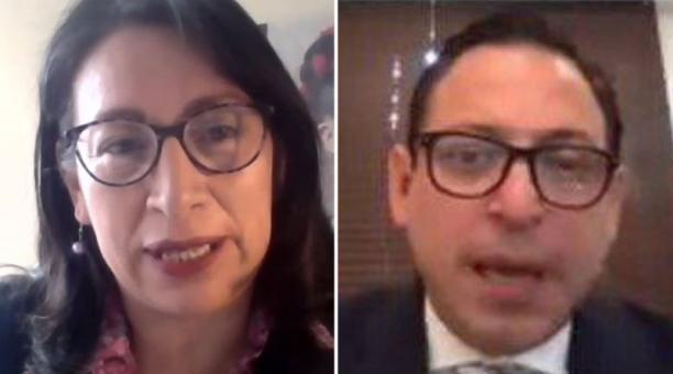Xavier Muñoz y Solanda Goyes fueron designados vocales principal y suplente del Consejo de la Judicatura. Foto: Tomadas de Twitter