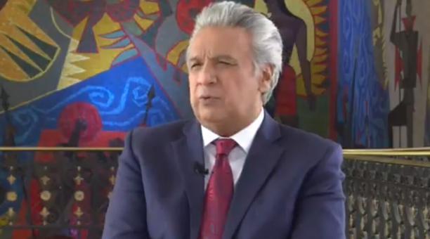 Lenín Moreno confesó que se arrepiente de haber aceptado terciar en las elecciones del 2017. Foto: Captura de pantalla