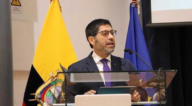 Fernando Ponce, de 58 años, dirige la Pontificia Universidad Católica del Ecuador desde el 2015. Foto: cortesía