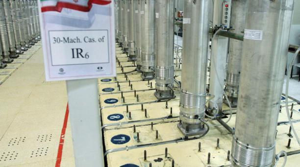 Los países del pacto nuclear han entablado negociaciones con representantes de Irán, después de que ese país anunciara que avanza con el uranio enriquecido. Foto: EFE