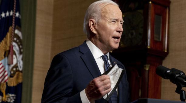 La OTAN respaldó al gobierno de Joe Biden, luego de la sanción de EE.UU. a Rusia. Foto: EFE