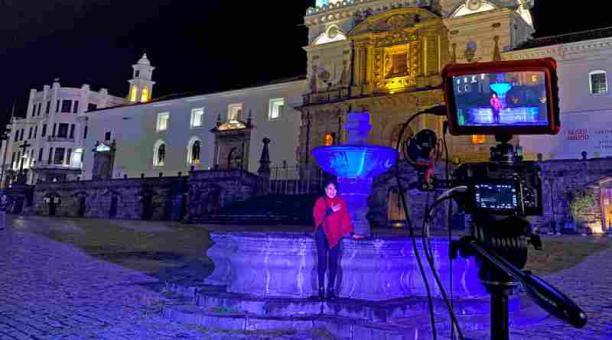 Los relatos de los narradores ecuatorianos se transmiten a través de las redes sociales. Foto: Cortesía Mishki Shimi