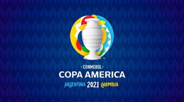 Foto referencial del logo de la Copa América de Argentina y Colombia 2021. Foto: Conmebol