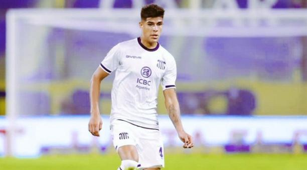 El ecuatoriano Piero Hincapié ha sido titular los 90 minutos en 10 partidos seguidos con el Talleres de Córdoba. Foto: Archivo /BF.