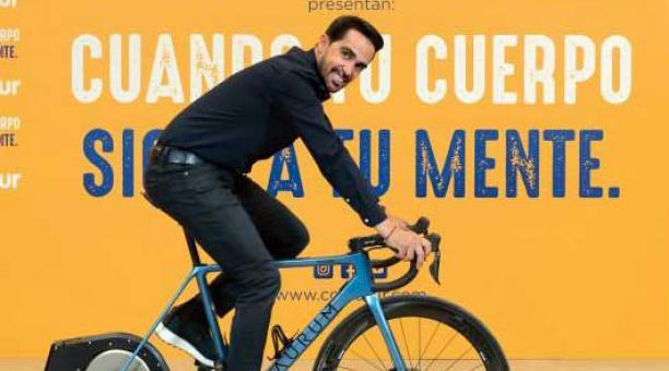 El exciclista Alberto Contador conversó con EL COMERCIO