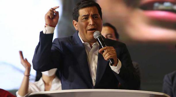 Andrés Arauz habló de dos razones que evidencian que el correísmo es fuerte en todo el país. Foto: archivo / EL COMERCIO