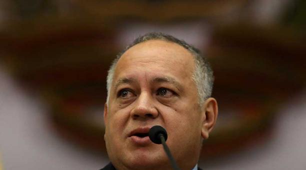 Diosdado Cabello demandó a El Nacional en 2015 después de que publicara un artículo asegurando que era investigado en Estados Unidos por narcotráfico. Foto: archivo / Reuters