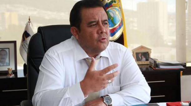 Patricio Pazmiño a sumió el cargo el 1 de enero del 2016 y su periodo se extiende hasta el 2022. Foto: Archivo / EL COMERCIO