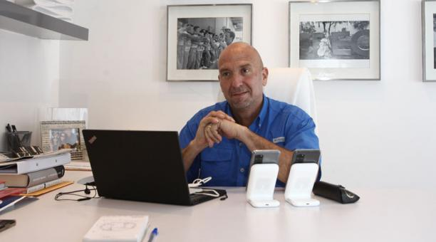 César Monge, asambleísta electo y mano derecha de Guillermo Lasso. Foto: Enrique Pesantes/ EL COMERCIO