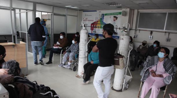 En Quito, hasta el sábado 17 de abril del 2021 se registraron 115 489 casos de covid-19. Foto: Galo Paguay / EL COMERCIO